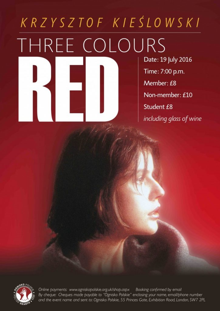 Three Colours Red Poster for web
